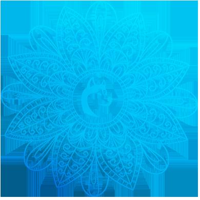 Mandala chien de traineau